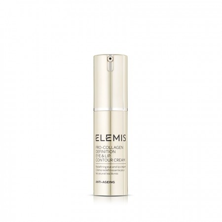 ELEMIS Pro-Collagen Definition Eye & Lip Contour Cream - Ліфтинг-крем для повік і губ, 15 мл