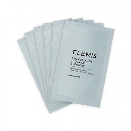 ELEMIS Pro-Collagen Hydra-Gel Eye Masks  - Ліфтинг-патчі для контуру очей, 6 пар