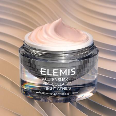 ELEMIS ULTRA SMART Pro-Collagen Night Genius - Ночной крем, 50 мл